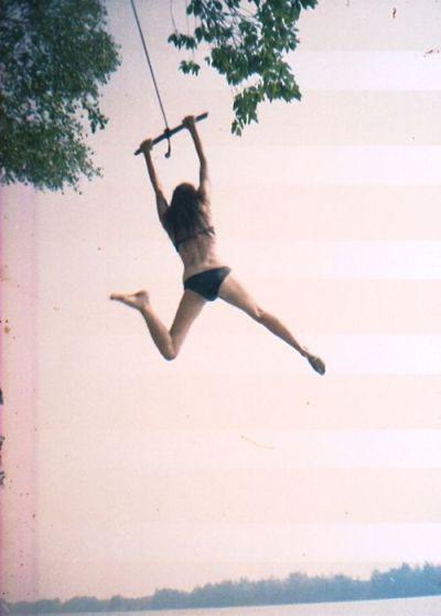 amanda frances girl on swing