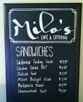 Milo's Menu Boards 2014
