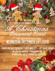 2016 Christmas Ornament Decorating Event