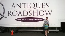 Antiques Roadshow lorry