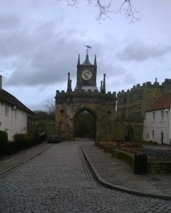 Gate to Bishop Auckland Castle