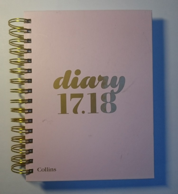 Collins academic year diary