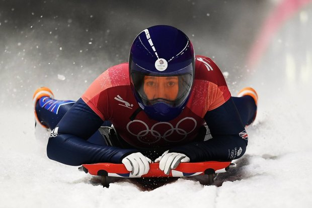 Lizzy Yarnold on her Skeleton