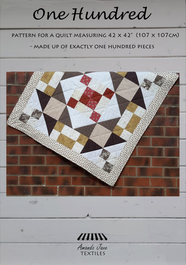 One Hundred quilt, new cover 2019