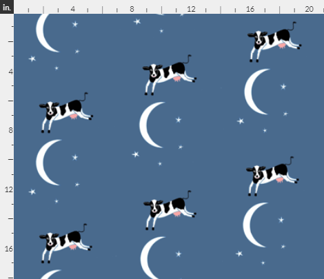 Moon and Jumping Cow