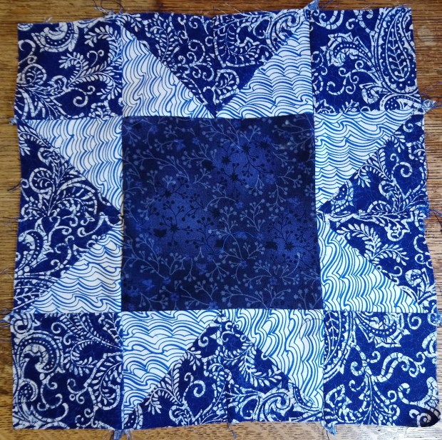October block by Amanda Jane Textiles