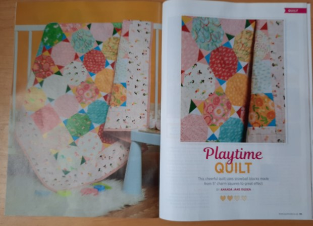 'Playtime' quilt by Amanda Jane Ogden for Quilt Now