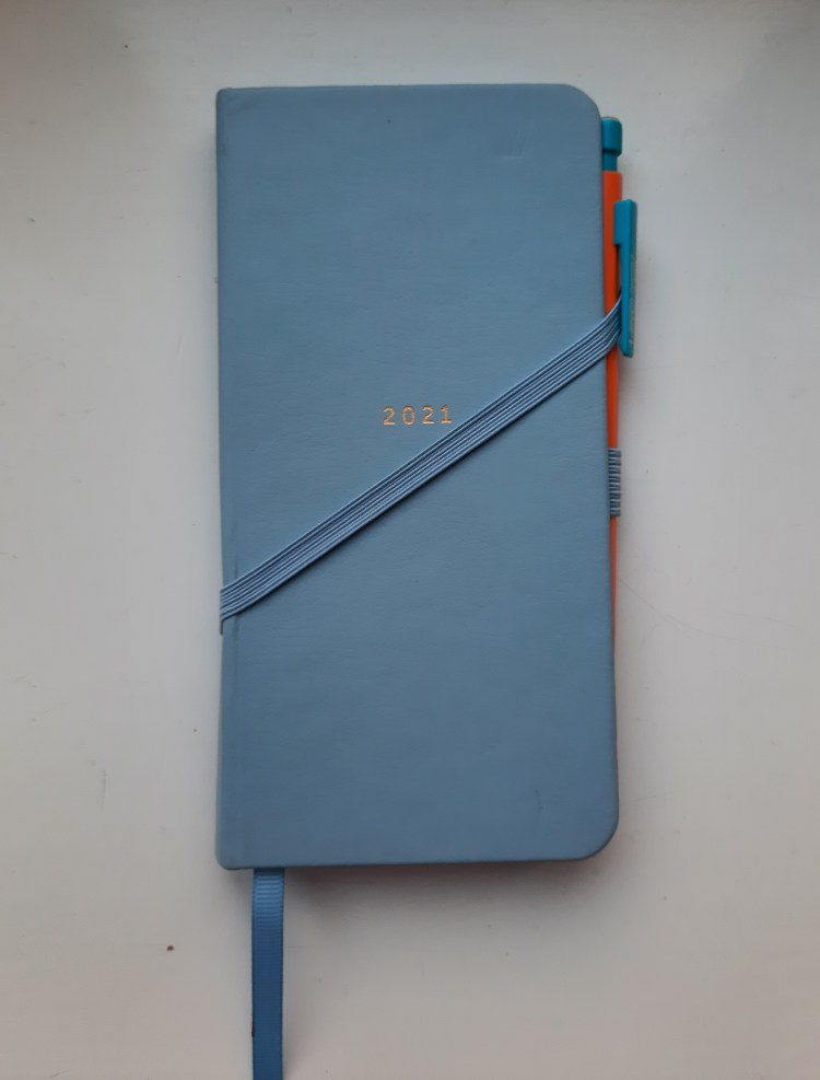 Slim Diary 2021 by Busy B, cover