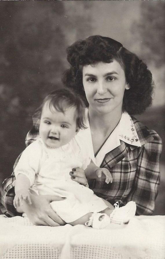 My husband's grandmother and mom