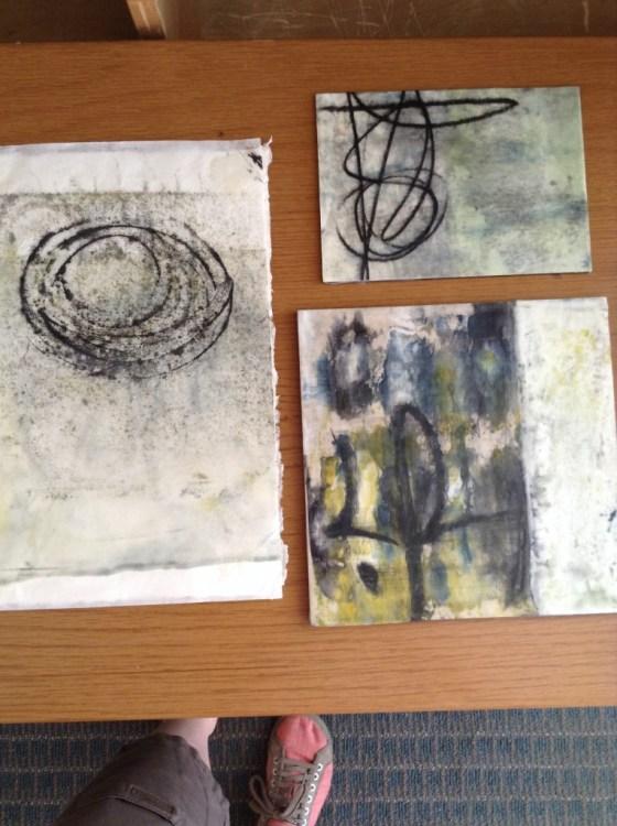 A grouping of Michel Fletcher's work