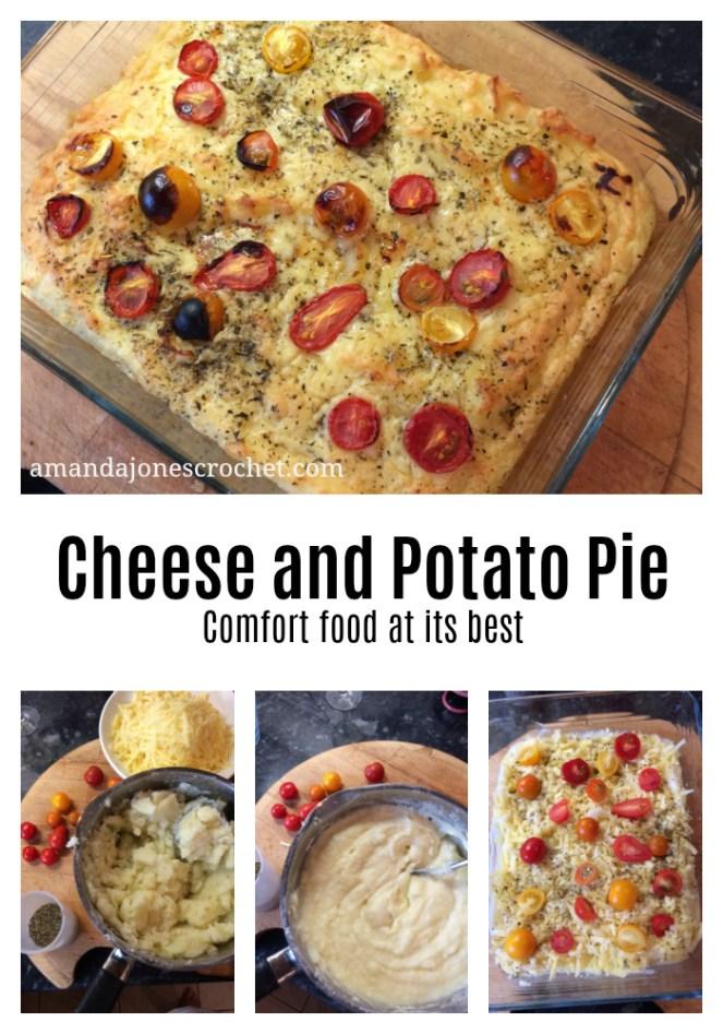 Pin Cheese & Potato Pie