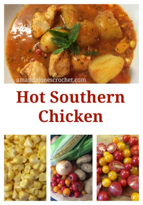 Hot Southern Chicken Pin