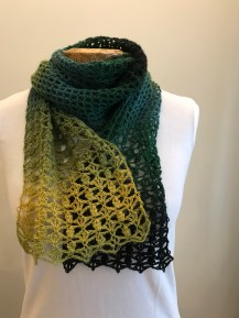 Forever Green Scarf