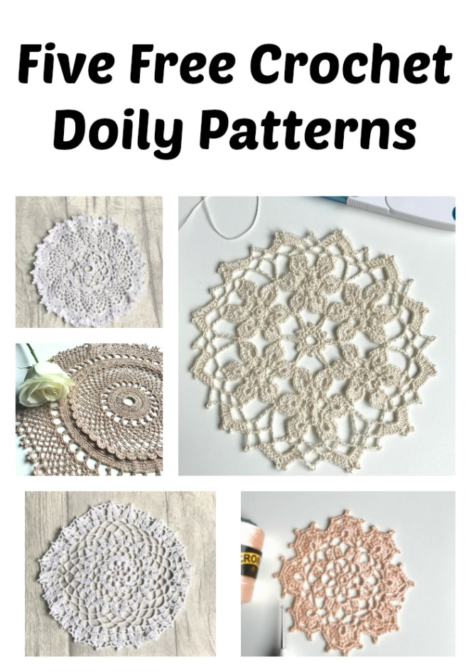 Five Free Crochet doily Patterns No 2