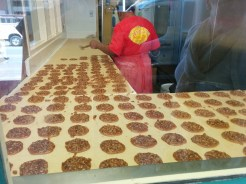 Praline production line