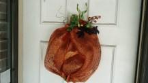 Pumpkin Wreath 2014