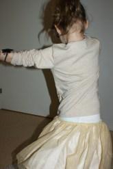 Kjolen går att snurra...