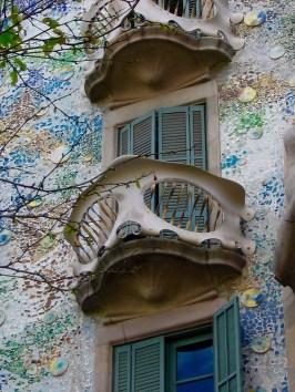 Casa Batllo, 1904, Gaudi, Passeig de Gracia