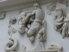 Part of the frieze of the Pergamon Altar 2nd century BC