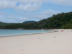 Beautiful Whitehaven Beach (although sadly not my private seaplane!)
