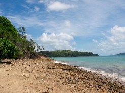 Deserted Beach, Hamilton Island - seemed like a great idea to pack a picnic and have a bit of a walk here...