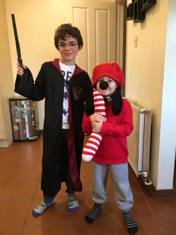 Harry Potter & Claude