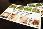 Guests can send Brook Farm Berrington postcards