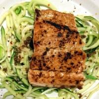 COOK: spaghetti aglio e olio with zucchini noodles recipe