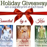 Connected by a Kiss Holiday Giveaway