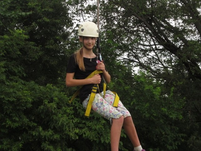 Abby high ropes