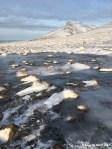 Mt Spákonufell and ice