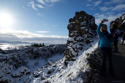 Brúarhlöð canyon