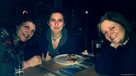 Caroline, Maria & Rhona