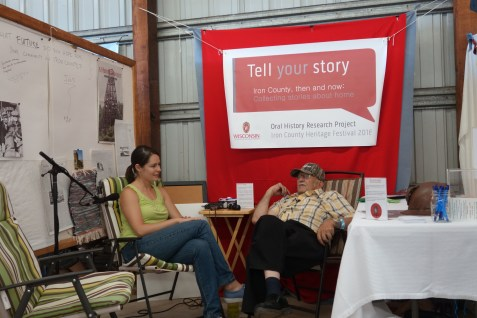 Oral history project, Iron County, Wisconsin