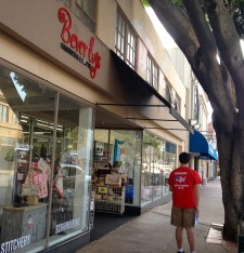 Be warned, this store is almost as addicting as Target– if you don't want to leave with more than you came for, only bring 20 bucks. Bruce Mitchener, a first-year Cal Poly student, eagerly strolls down Monterey Street towards the store.