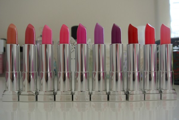 Maybelline ColorSensational Rebel Bloom Lipsticks