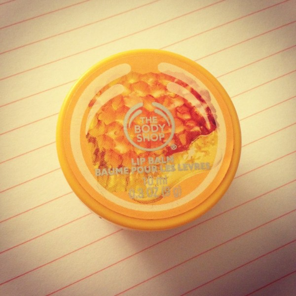 Body Shop Honeymania Lip Balm