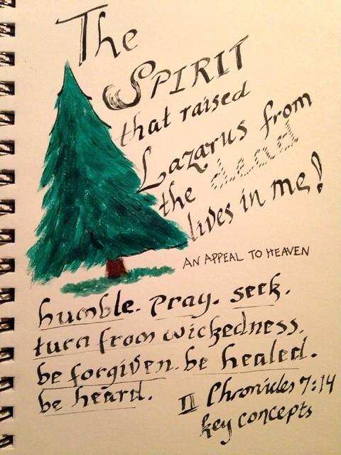 Sketch Diary: National Day of Prayer