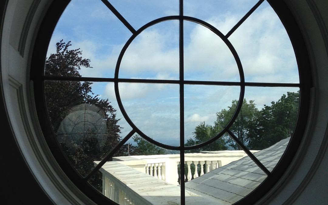 Thomas Jefferson's eye view at the Monticello dome