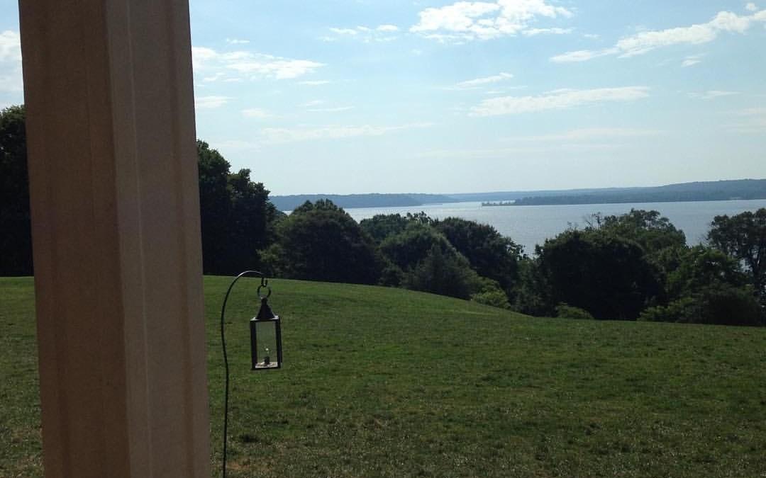 George Washington's view of the Potomac