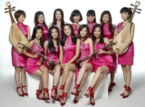 12 Girls Band in Changsha!