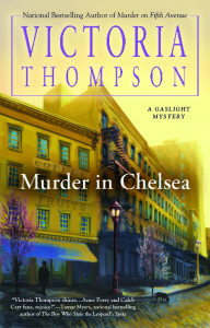 An Open Letter to Victoria Thompson, Author of the Gaslight Mystery Series
