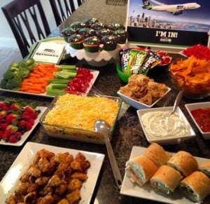 Game Day spread