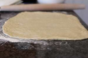cinnamon roll dough, dough