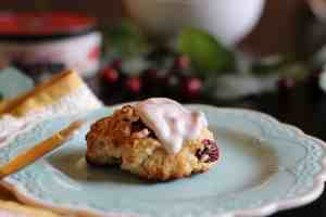 cranberry apple scones