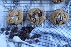 salted brown butter chocoalte chip cookies