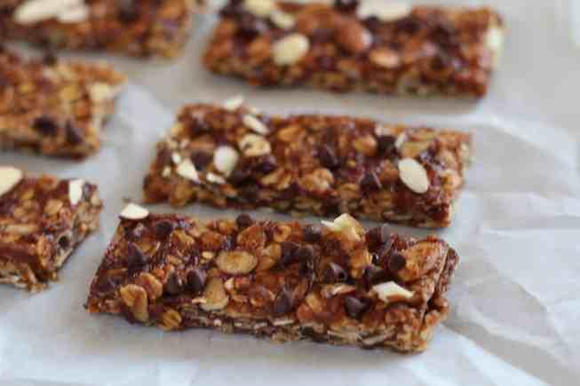 homamde granola bar, homemade granola, health granola