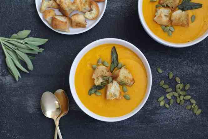 butternut squash soup recipe amandas plate