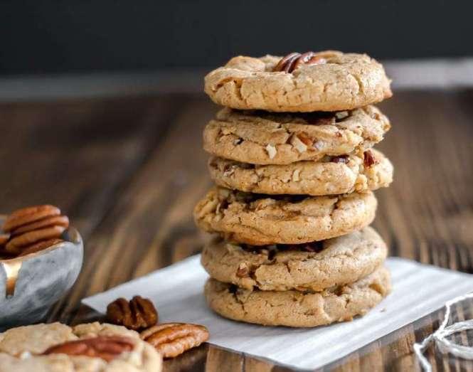 brown butter pecan cookie recipes, Amanda's Plate brown butter pecan cookies