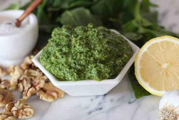 kale pesto recipe amandas plate